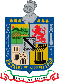 escudo de nuevo leon: